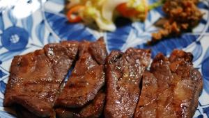 【孤独のグルメ】宮城県仙台市の牛たんセット / 萃萃(すいすい)