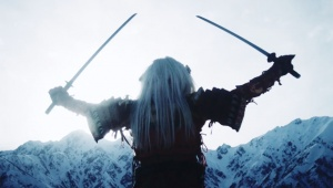 【衝撃】日清の新作動画がヤバイ / サムライがスキーに挑戦した結果 → 刀をストックにして空中回転スゴスギ(笑)