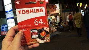 【検証】秋葉原で売ってる激安SDカードは本当に使えるの? 実際に買って試してみた / 東芝SDXC 64GB