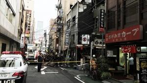 【炎上】神田駅前で大火事発生! 東京で一番ウマイお好み焼き屋「カープ東京支店」は無事 / 安否確認の電話相次ぐ