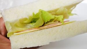 【裏技】簡単なサンドウィッチの作り方! 食パンにハムとチーズを挟むだけ!! マヨネーズを塗ってもOK