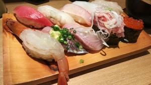 孤独のグルメ シーズン6 / 三軒茶屋すずらん通りの回転寿司とうしお汁 / すし台所家 三軒茶屋店