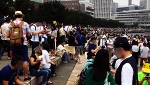 【ブチギレ激怒】横浜ポケモンGOイベントでスマホがネットに繋がらない! 混雑しすぎてケータイ回線がパンク状態