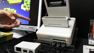 【衝撃】東京ゲームショウにファミコンゲームをインストールできるゲーム機が登場! 友達のゲームはインストール禁止