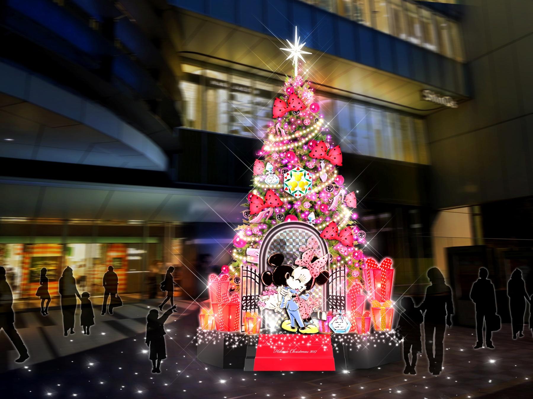 ミニーマウス クリスマスツリー
