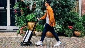 【朗報】『押して運べる』スーツケースが伊勢丹新宿店で期間限定発売