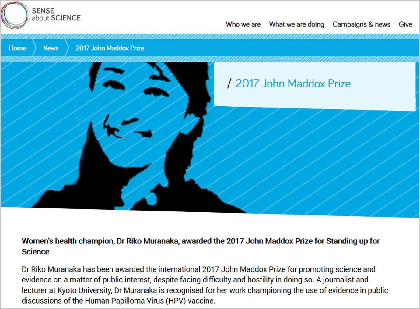 john-maddox-prize