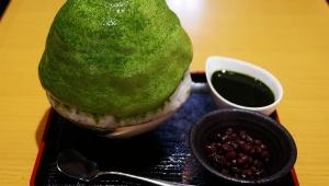 【極上】日本で一番こだわりがあるカキ氷 / しもきた茶苑大山の「抹茶のエスプーマ微糖抹茶」