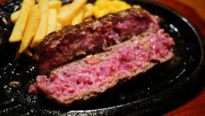【革命】ハンバーグは塩で食べると激しく美味しいことが判明 / ソース派から塩派に移籍したくなるレベル / ブロンコビリー