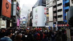 【緊急事態】渋谷センター街で大火事 / ファイアーショーが名物の炎の料理店で火事「東京すぱいす酒場」