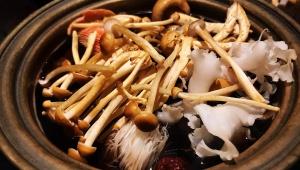 【極上グルメ】極めて珍しいキノコ鍋を「世界でここにしかない特注鍋」で食べる / THE XUN TOKYO