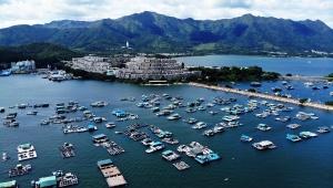 【魅惑の香港旅行】まさに香港のモンサンミッシェル / ドローンで魅せられる船湾避風塘の世界
