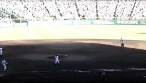 【大絶賛】甲子園・金足農業の吉田輝星投手がプロも絶句の超級技を披露「わざと球を落としてツーアウトをゲットする神業」