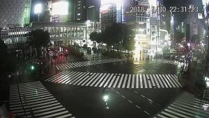 【緊急事態】台風の影響で渋谷に誰もいない! 24時間いつでも渋谷の様子を生配信中