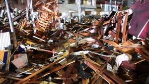 【緊急事態】札幌市豊平区で大爆発が発生 / 建物が粉々に吹き飛んだ動画が痛々しい