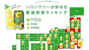 【衝撃】レモンサワーが好きな都道府県ランキングが発表 / 1位はレモン名産地の広島県ではなく「なぜか」あの県!