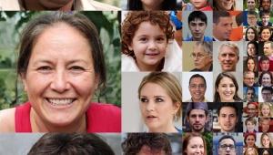 【革命】人工知能が「存在しない人間の顔」を作ることに成功 / NVIDIAのAI技術公開