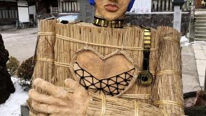 【衝撃】神社がジョジョとコラボか / 鬼コスプレのブチャラティ登場で大人気「アリーヴェデルチ! さよならだ」