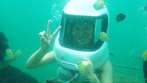 【水中絶景】マレーシア・ボルネオ島コタキナバルの美しき海に潜ってみよう / 気軽に潜水!