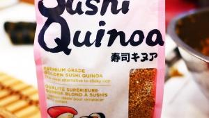 【FOODEX JAPAN2019】寿司に米を使わない「キヌア寿司」が話題 / カナダでは寿司屋が実用中