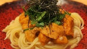 【究極グルメ】おそらく日本一美味しい「うにパスタ」が食べられる / 銀座魚勝