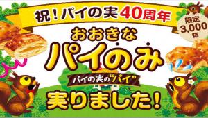 【爆笑】チョコがないパイの実「パイのみ」発売決定! ロッテ史上初「おおきなパイのみ」数量限定で新発売!