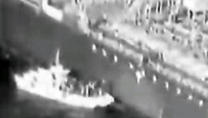 【話題】日本船にイラン海軍艇が不審行動する動画が流出か / 当局関係者「不発爆弾を秘密裏に回収してるのでは」