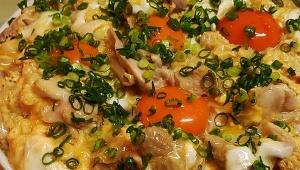 【デカ盛りグルメ】3.7キロの超特大クアトロ親子丼がデカ盛りすぎる件 / 炭火やきとり 萩