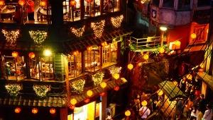 【厳選】台湾の魅惑スポット! 九份の絶景すぎる夜景撮影がキレイすぎる!