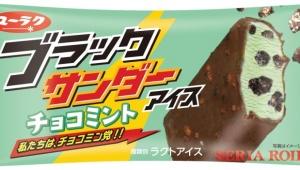 「ブラックサンダー」のチョコミントアイスが限定発売 / 清涼感強めでチョコミン党なら見逃せない!