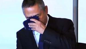 【話題】吉本興業の岡本社長が記者会見で号泣 / 岡本昭彦社長「1年間50%の減俸処分を受ける」
