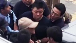 【緊急事態】あおり運転の宮崎文夫容疑者が逮捕される瞬間の動画公開 / 女性が叫びまくる
