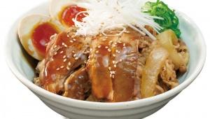 【朗報】松屋がハンパない新メニュー投入 / 沖縄ラフテー風 牛と味玉の豚角煮丼