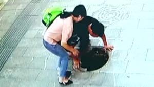 【動画ニュース】子供がマンホールに落ちる事故が多発 / ちびっ子との歩行時は特に注意