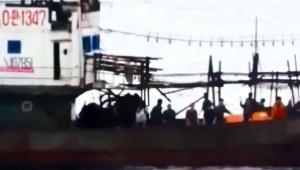 【緊急事態】水産庁が北朝鮮漁船と衝突した動画をノーカット公開