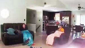 【緊急事態】家に大木が倒れる事故が恐ろしすぎる動画 / 自然災害の恐怖