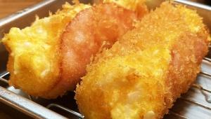 【魅惑グルメ】これをハムカツと呼んでよいなら日本一美味しいハムカツかもしれない / 堂山食堂