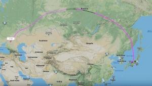 カルロス・ゴーン氏が不法出国した飛行機がリアルタイムで確認か / Flightradar24