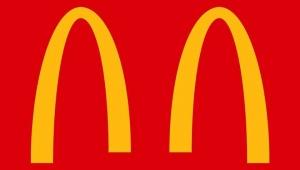 【衝撃】マクドナルドが公式にトレードマークを半分に割る / 新型コロナウイルス感染予防のため「離れよう」