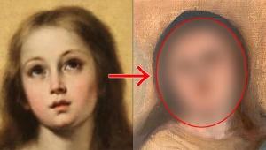 【衝撃】素人が聖母マリアの絵画を修復した結果 / 二度の修復でまったくの別人になる「オーマイゴッド!」
