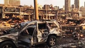 【衝撃】レバノン首都ベイルートの爆発後が「北斗の拳の世界」「世…