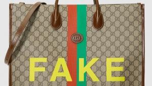 【衝撃】グッチが「グッチの偽物をモチーフにした本物」を販売で話題 / イミテーション的なGUCCI FAKE