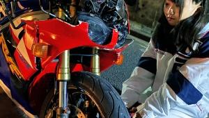 【衝撃】美人すぎる女子高生ライダー16歳がバイク事故で謝罪 / 無謀運転で大炎上「叱ってくれた人すみません」