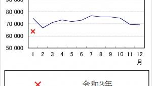 【衝撃】このままいくと日本が消滅の危機か / 令和3年1月の出生数が前年比で激減「世界的レベルでは双子が増加」