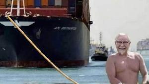 【衝撃】ケンタッキーフライドチキン公式がスエズ運河座礁トラブル…
