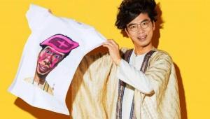 【胃人】奇才・片桐仁さんが明治「LG21」21周年記念グッズをデザイン! 4月1日に嘘のような胃袋ブランド実現
