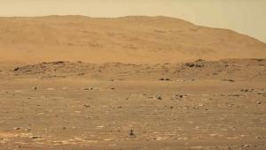 【衝撃動画】NASAが火星でヘリコプター飛行させた高画質動画を公開 / 極めてスムーズで正確に浮遊