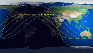 【話題】地球衝突予定の中国ロケット位置がリアルタイムにわかる生配信動画に注目集まる / 日本への落下は