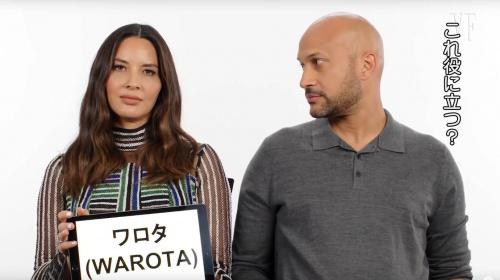 【衝撃】ハリウッド女優が日本のスラングを動画で世界に伝える「ワロタwww」「オッス!」「空気読め…