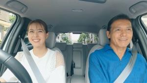 【話題】Honda FIT 発売20周年企画で 「タイムスリップ ドライブ」動画公開! 阿部祐二と阿部桃子の親子旅